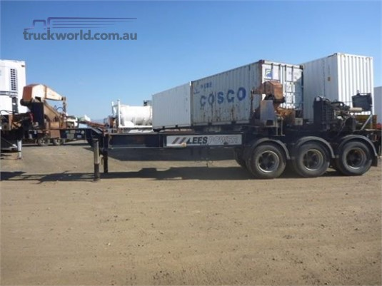 1993 Lees Side Lifter Western Traders 87 - Trailers for Sale