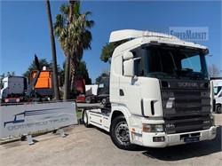 Scania R124l420  Uzywany