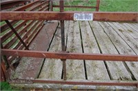 8 x 16 Hay Rack on KASTEN Running Gear