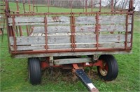 Hay Rack on KNOWLES  with Adjustable Tongue