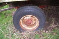 Hay Rack on KNOWLES Running Gear