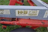Seven Foot H&S Hay Tedder