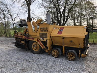 1997 BLAW-KNOX PF161 ASPHALT PAVER Other Auction Results - 1