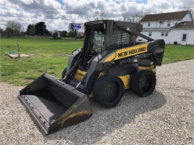 NEW HOLLAND L180 SKID STEER LOADER Other Auction Results - 1 ... on