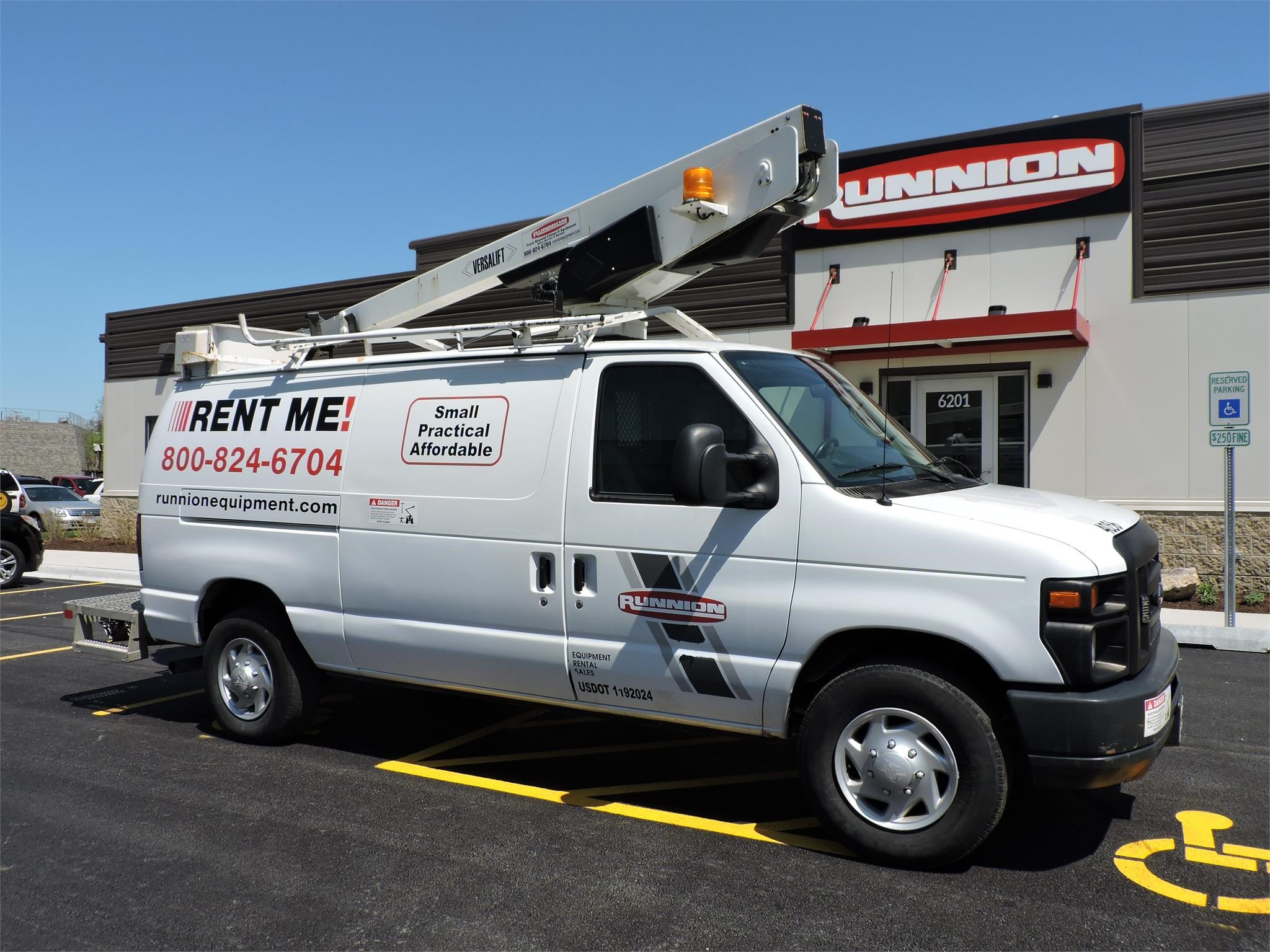 2012 VERSALIFT VAN TEL29N MOUNTED ON 2012 FORD E350 For Sale in Hodgkins,  Illinois