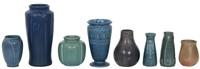 Lot of 8 Rookwood Vases