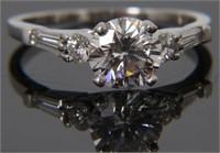 Diamond Wedding Ring & Band