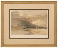3 David Roberts 19th Century Lithographs