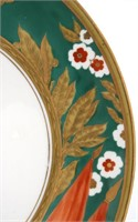 Soviet Porcelain Charger of Stalin's 70th Birthday