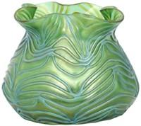 """Loetz """"Crete Formosa"""" Decorated Vase"""