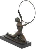 Art Deco Bronze Sculpture After Ferdinand Preiss