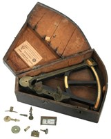 English Sextant in Case