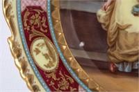 Two Royal Vienna Porcelain Plates