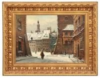 Jan Rawicz O/C Winter Townscape