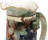 Jean Pouyat, Limoges Porcelain Tankard