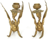 Pair of Tiffany & Co. Candleholders