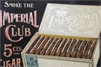 Imperial Club 5c Cigar Sign