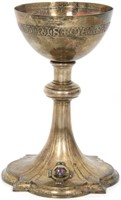 Gilles Beaugrand Gold Washed Sterling Chalice