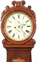 Scottish 8 Day Drumhead Grandfather Clock