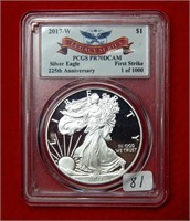 Weekly Coins & Currency Auction 5-10-19
