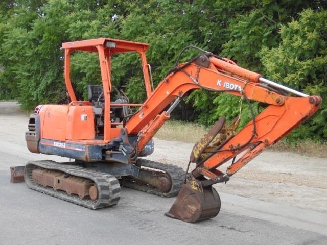 Kubota KX121-2 Mini Excavator - with Thumb | HiBid Auctions