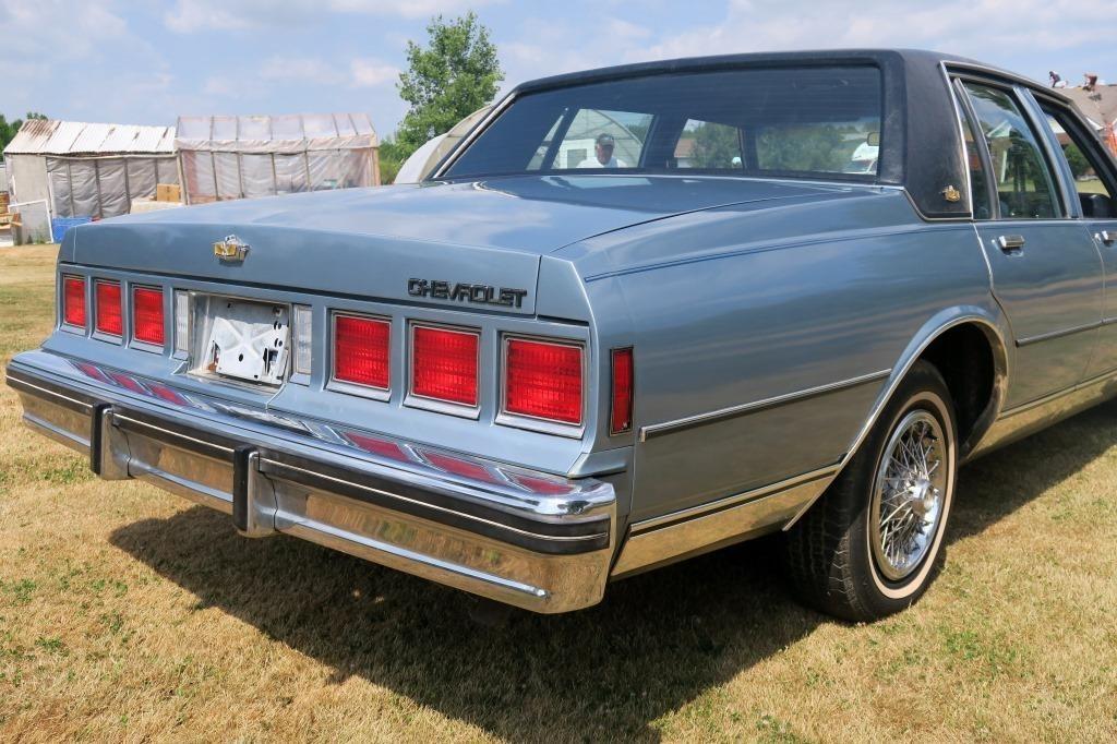 1985 chevy caprice classic 61k original miles hessney auction co ltd 1985 chevy caprice classic 61k