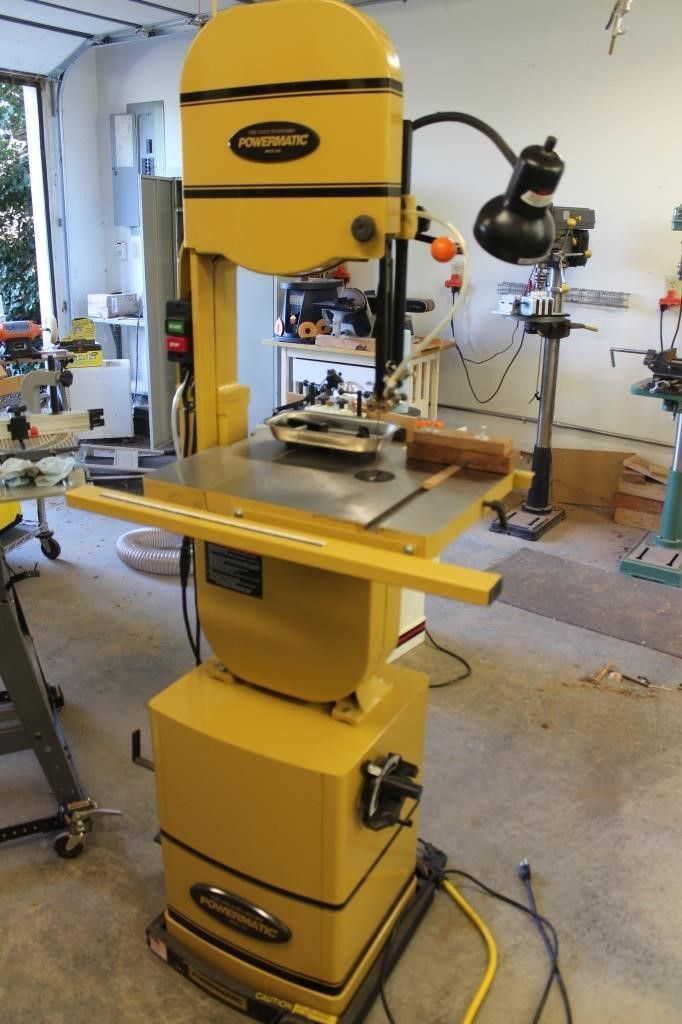 Powermatic 14 Bandsaw Model Pwbs T4 Lincoln Crum Auctions