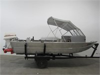 Hewescraft 16' River Runner Aluminum Boat   United Country Musick & Sons