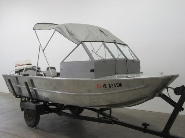 Hewescraft 16' River Runner Aluminum Boat | United Country