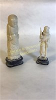 Two Ivory Statues