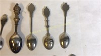 16 Collector Spoons & Forks Non-Silver