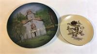 Brownie Downing Dish & 1940 Greek Dish
