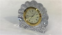 Small Waterford Crystal Desk Clock