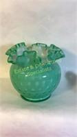 5 Piece Fenton Opalescent Art Glass Lot