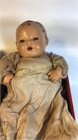 9 Antique Dolls with Clothes & Pillow in Orig Box