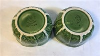 11 Piece Majolica Dishes Very Good Condition