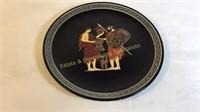 9 Piece Decorative Greek Pottery Kutahia NICE