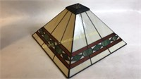 Tri Light Stained Glass Lamp