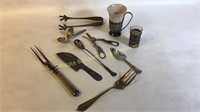 Mixed Lot of 10 Silver Plate Specialties