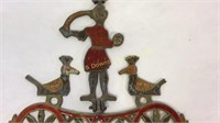 Enamel on Bronze & Copper Wall Decoration