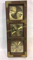 Vintage Thermometer Barometer & Humidity Meter