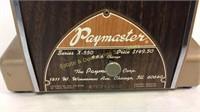 Vintage Paymaster Check Writer with Original Key