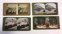 Stereoscope with Big Stack of Cards
