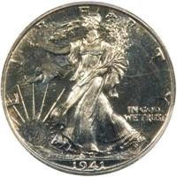 50C 1941  PCGS PR67 CAC