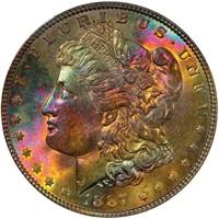 $1 1887 PCGS MS65 CAC