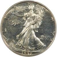 50C 1937  PCGS PR67 CAC