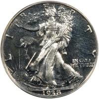 50C 1938  PCGS PR67 CAC