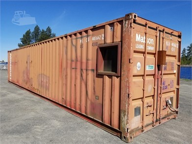1990 ASSOCIATED IND  40FT  SHIPPING CONTAINER Other Auction