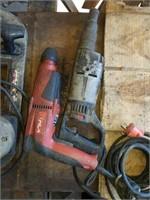 2 Hammer drills