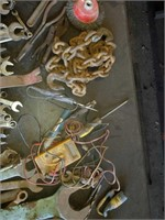 Table of wrenches
